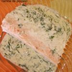 Terrine de poisson tricolore