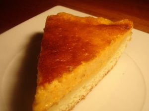 Cheesecake au potimarron