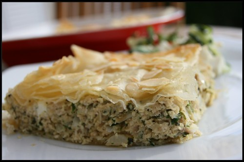Kotopitta ou Chicken pie grecque