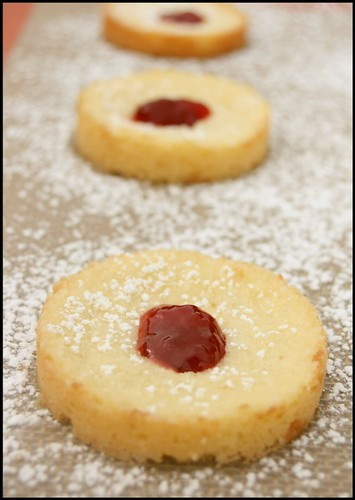 shortbread a la confiture