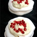 mini pavlova aux fruits de la passion