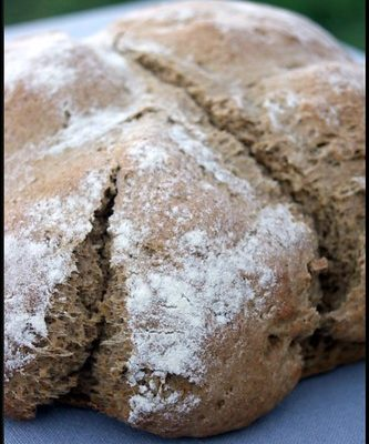 Soda bread au black treacle