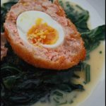 Scotch egg au saumon écossais