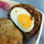 Scotch eggs au chorizo