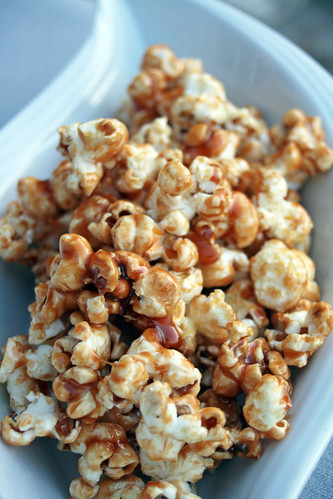 pop corn au caramel