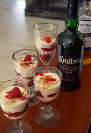 Cranachan (dessert traditionnel écossais)
