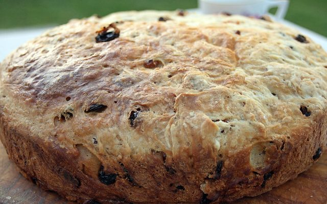 Barmbrack (cake traditionnel irlandais au fruits)