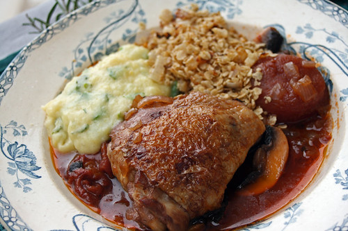 Chapshot slirlie et poulet chasseur