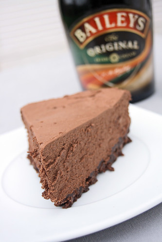 Irish cream cheesecake (cheesecake au bailey)