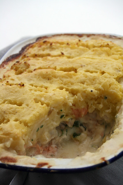 Irish fish pie (gratin de poissons irlandais)