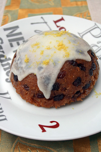 Snowdon pudding (Christmas pudding gallois)