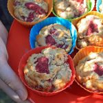 muffins aux framboises