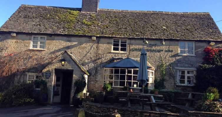 Gastrobub The green dragon Cotswold