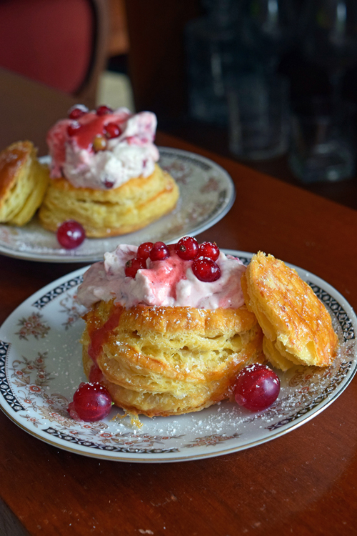 vol-au-vent aux fruits rouges