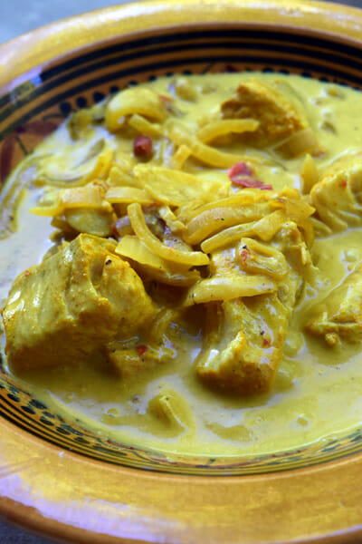 Curry de poisson du Kerala (Kerala fish curry)