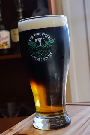 black and tan beer