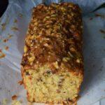 cake aux noisettes et pommes (Kentish cobnut cake)